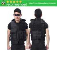 Rompi Militer Airsoft Gun CS Tactical Vest Combat 800D