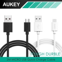 2M Fast 2 0 Aukey Micro USB Cable Kabel Charger Sony Xiaomi Original