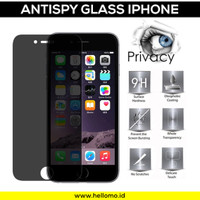 Anti Spy Tempered Glass iPhone / Antispy Antigores / Anti Gores Screen