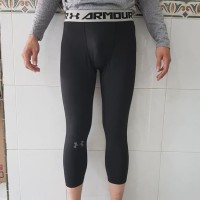 Celana Ketat Baselayer Under Armour Pro Combat 3/4 Halfpants