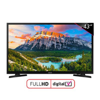 "LED TV 43"" SAMSUNG UA43N5001 USB Movie Digital TV Garansi Resmi"
