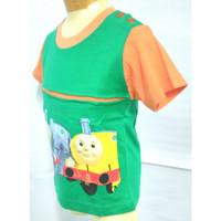 414-419* 6 bulan - 4 tahun Kaos baju atasan oblong anak cowo cewe