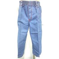 402-407* 1-4 tahun celana panjang jeans pinggang full karet anak cowo