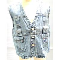 390-395* 7-10 tahun Rompi atasan jeans anak cowo cewe murah keren gaul