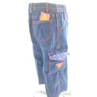 371-376* 1-4 tahun celana panjang jeans anak cowo banyak kantong