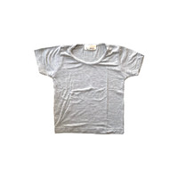 Lumik Plain Light Grey Tee