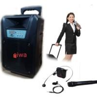 Portable Multimedia trolley Speaker Metting 8 inch karaoke