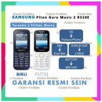 RD Samsung Piton Guru Music 2 DUOS SM - B310E SM-B310E