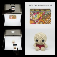 Light Box Portable Mini Photo Studio Magic Box Ukuran 40X30X30Cm Promo