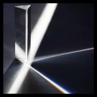 Prism Glass Kaca Prisma Segitiga 80Mm Boom Sale