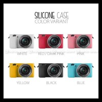 Silicone Sony Alpha A5000 A5100 Silikon Case / Sarung Silicon Kamera -