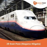 JR East Pass (Nagano, Niigata) Flexible 5 Hari - Anak