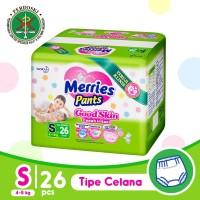 Merries Pants Good Skin S 26S - Popok Bayi/Diapers