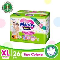 Merries Pants Good Skin XL 26S - Popok Bayi/Diapers