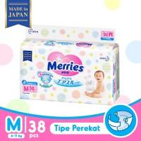 Merries Baby Diapers Tape M 38S - Popok Bayi