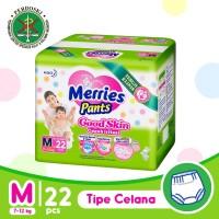 Merries Pants Good Skin M 22S - Popok Bayi/Diapers