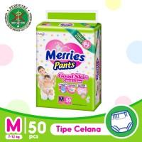 Merries Pants Good Skin M 50S - Popok Bayi/Diapers