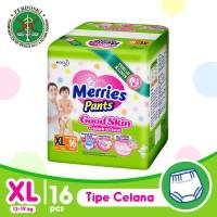 Merries Pants Good Skin XL 16S - Popok Bayi/Diapers