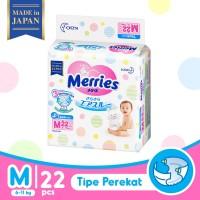 Merries Baby Diapers Tape M 22S - Popok Bayi