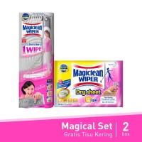 Magiclean Magical Set - Wiper Mop FREE Dry Sheet
