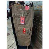 CARDINAL Original Men Cargo Cotton Short Pant 7per8 Celana Pendek EBW9