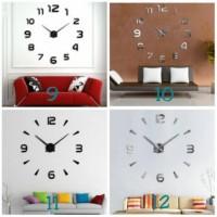 Jam Dinding Raksasa / Jam Dinding DIY ( 1kg bisa 3pc jam ) Jam Dinding