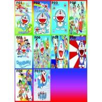 Stiker Kulkas 1 Pintu Motif Doraemon
