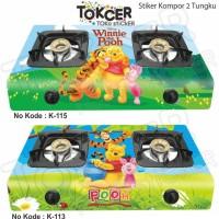 Stiker Kompor 2 Tungku Winnie The Pooh