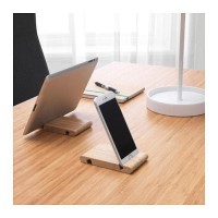 BERGENES Tempat ponsel/tablet, bambu