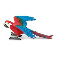 Safari Ltd - Green - Winged Macaw