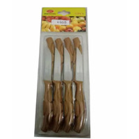 Kitchen Set Knife Pisau Buah, Pisau Sayur Set 12 pcs,pisau roti set 12