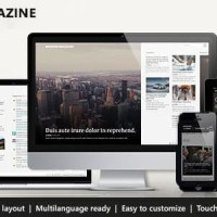 Modern Magazine - Metro Multi-Purpose Theme