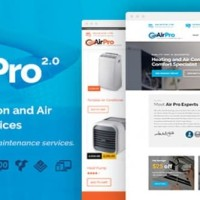 AirPro v2.1.0 - Heating and Air conditioning Theme for Maintenance