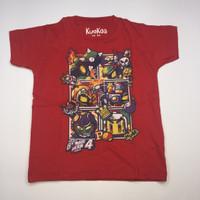 KuoKoa Kids -Bomber Man - Bambo Merah