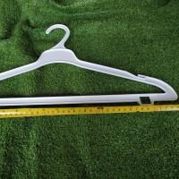 Hanger Plastik Murah/Gantungan Baju Putih