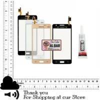 Lem + Touchscreen LCD Samsung Galaxy Grand Prime SM G530H Layar Sentuh