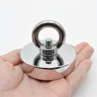 Magnet bulat kuat / Strong Neodymium Magnet Model Bulat 48mm 50-100KG