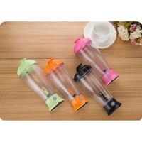 [HIJAU] Skinny Moo Mixer Botol Aduk Otomatis / Self Stirring Mug H-23