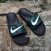 Sandal Nike Benassi ORIGINAL Sendal Nike Hitam Sendal Nike Swoosh 05