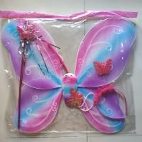 mainan anak Sayap peri sayap kupu kupu
