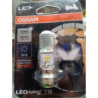 OSRAM LED T19 M5 K1 Lampu Utama Motor H6 PUTIH AC DC - Plug N Play