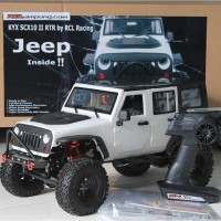 KYX SCX10 II Adventure 1/10 Rc Car RTR Water Proof