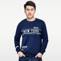 SEYES S1114 Sweater Sweatshirt Baju babyterry Premium Navy