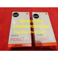 GARANSI RESMI Xiaomi Redmi Note 7 TAM 4/64 RAM 4GB 64GB Black 4 64 GB