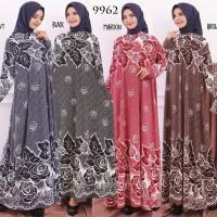 Baju Gamis Wanita Terbaru Gamis Jumbo Gamis Bahan Missbee 4L 9878