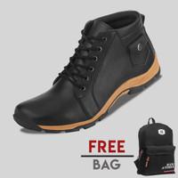 Sepatu Boots S.van Decka R-EER02 Free Tas Ransel