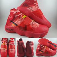 Sepatu Basket Custom Off White X Nike Hyperdunk 2017 Red for PJ Tucker