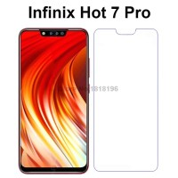 Tempered Glass Infinix Hot 7 Pro Anti Gores Kaca Clear Bening 7Pro
