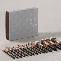 AerisBeaute The Brush-Onyx 15 Face and Eye Brush Collection