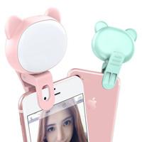 Lampu Selfi Light Ring Pencahayaan Foto Selfie Dimt 8Cm